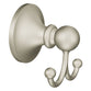 Moen DN8203BN Wembley Robe Hook Double - Brushed Nickel