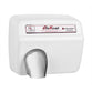 World Dryer DXM54-974A AirMax Automatic Hand Dryer Steel Surface Mounted - White