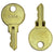 ASI E-114 Key for Tumbler Lock