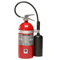JL Industries FS10 Sentinel Fire Extinguisher Portable Handheld Carbon Dioxide 10 lbs.