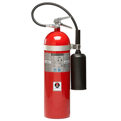 JL Industries FS05 Sentinel Fire Extinguisher Portable Handheld Carbon Dioxide 5 lbs.