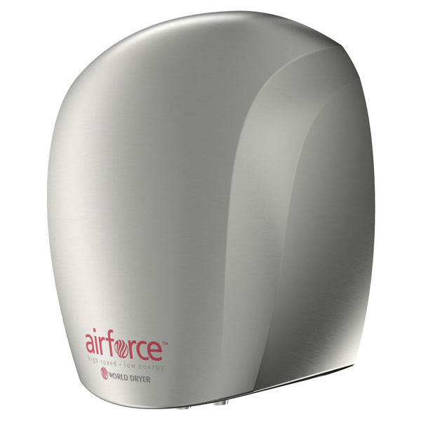 World Dryer J-97A3 AirForce Automatic Hand Dryer Stainless Steel Surface Mounted