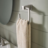 Moen MY3586BN Hensley Towel Ring - Brushed Nickel