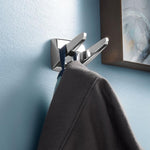 Moen P5030 Donner Contemporary Robe Hook Double - Prestige Distribution