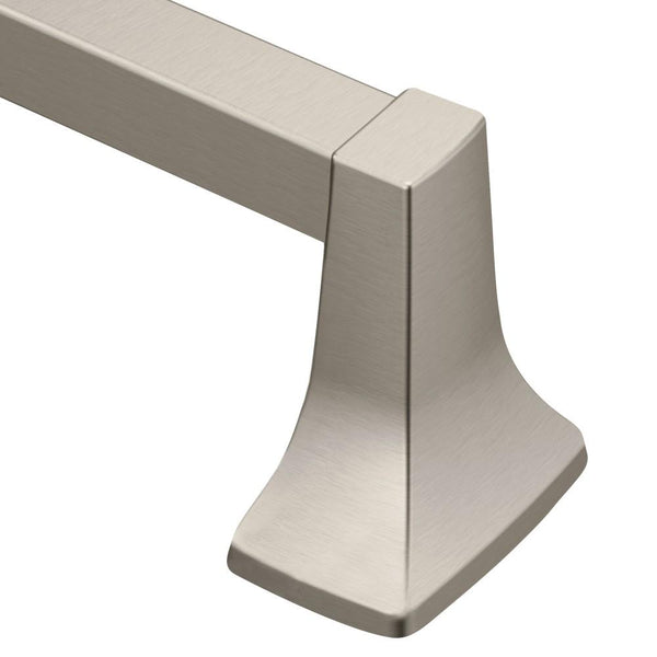 "Moen P5130BN Donner Contemporary Towel Bar 30"" - Brushed Nickel"
