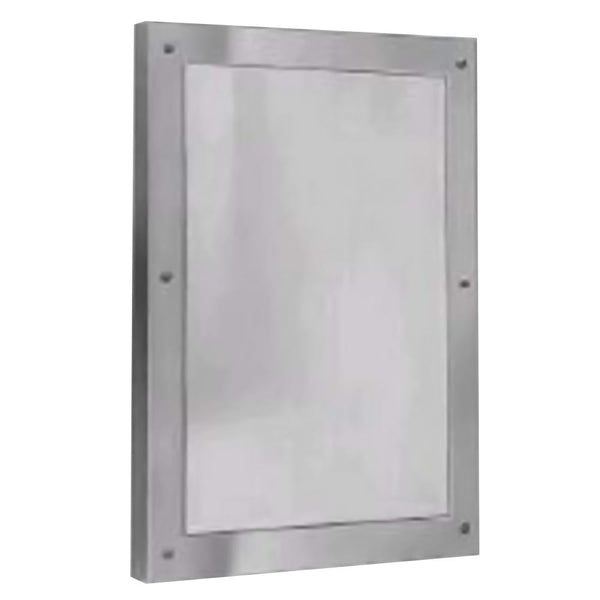 Bradley SA03-000001 Mirror Security Framed Front Mounted - Satin - Prestige Distribution