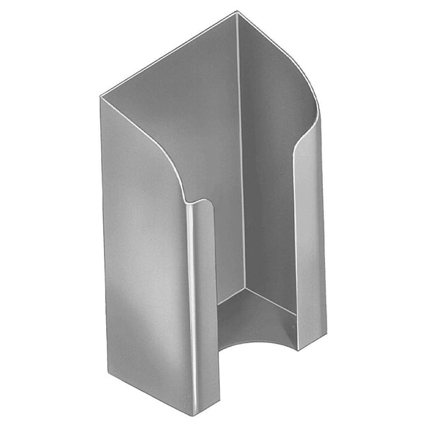 Bradley SA15 Security Toilet Paper Holder Partition Mounted - Satin - Prestige Distribution