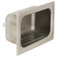 Bradley SA16 Soap Dish Security Stainless Steel Chase Mounted - Satin