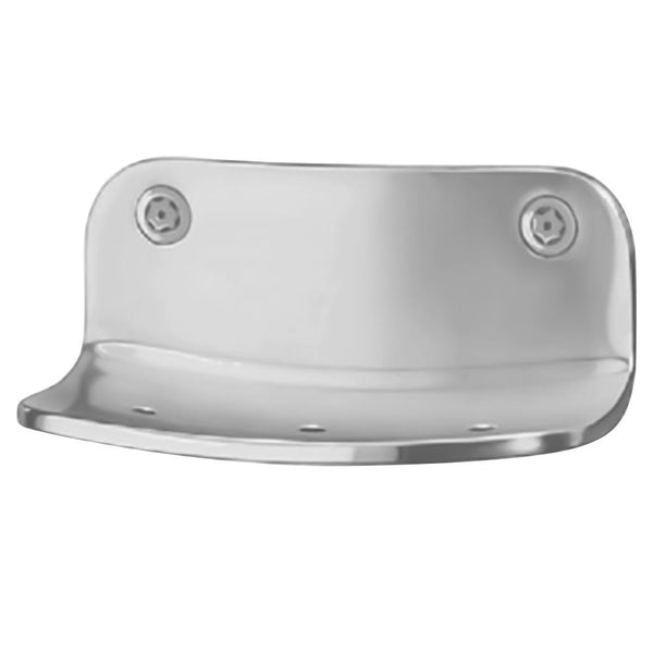 Bradley SA22 Soap Dish Security Stainless Steel Front Mounted - Satin - Prestige Distribution