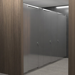 Hadrian Elite Max Stainless Steel Toilet Partition