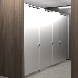Hadrian Elite Max Powder Coated Metal Toilet Partition