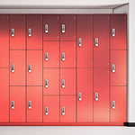 Thrislington Toilet Cubicle Locker - Fusion - Prestige Distribution