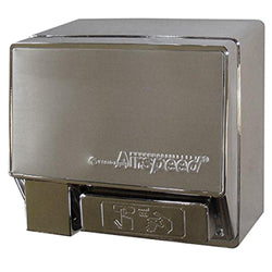 World Dryer WA246-00A AirSpeed Push Button Hand Dryer Aluminum Surface Mounted