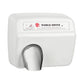 World Dryer XA57-974AU Model A Series Automatic Hand Dryer Cast Iron Surface Mounted - White