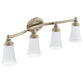 Moen YB2864 Eva Bath Light Four Globe