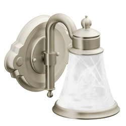 Moen YB9861 Waterhill Bath Light One Globe