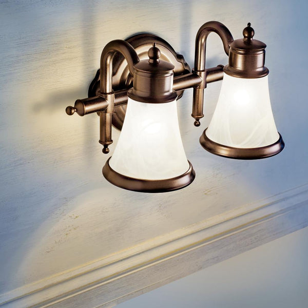 Moen YB9863 Waterhill Bath Light Three Globe - Prestige Distribution