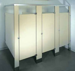 Global Partitions - Black Core Phenolic Toilet Partition