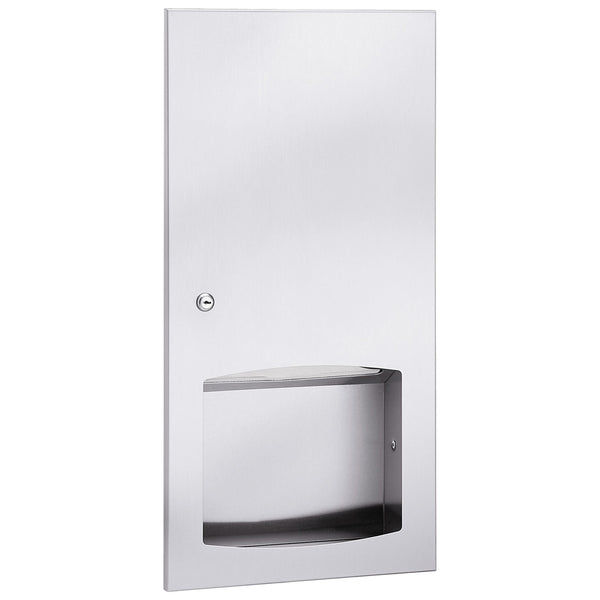 Bradley 2447-1100 Contemporary Paper Towel Dispenser Surface Mounted - Satin - Prestige Distribution
