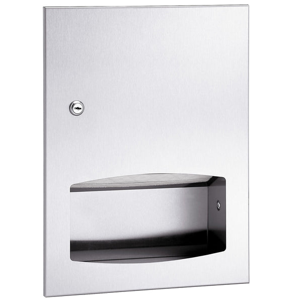 Bradley 2442-1100 Contemporary Paper Towel Dispenser Surface Mounted - Satin