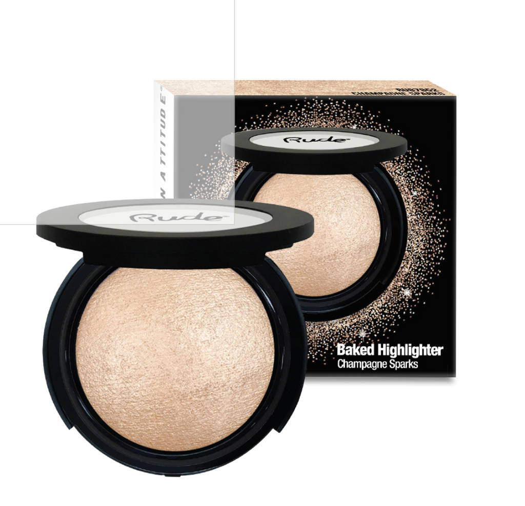 Baked Highlighter Champagne Sparks