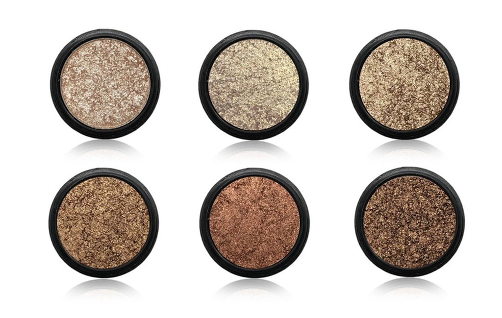Glimmer Pot Eyeshadow Set 6 Pieces