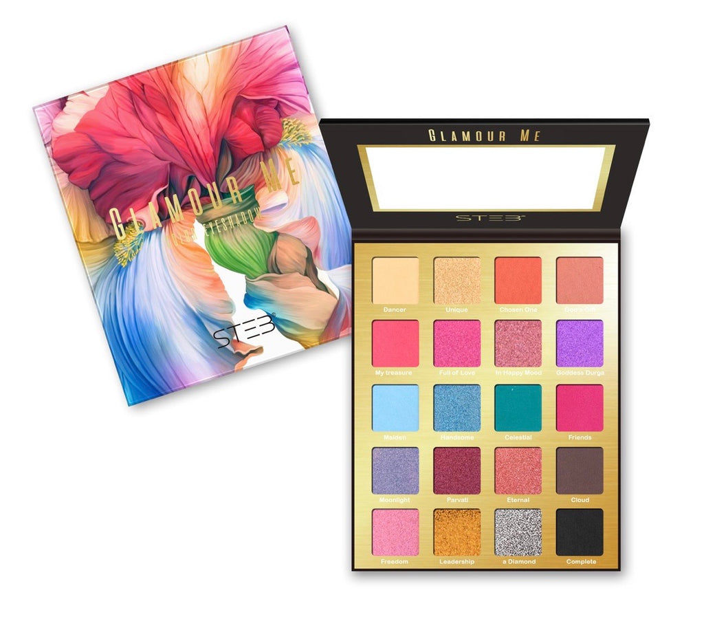GLAMOUR ME 20 COLOR EYESHADOW PALETTE