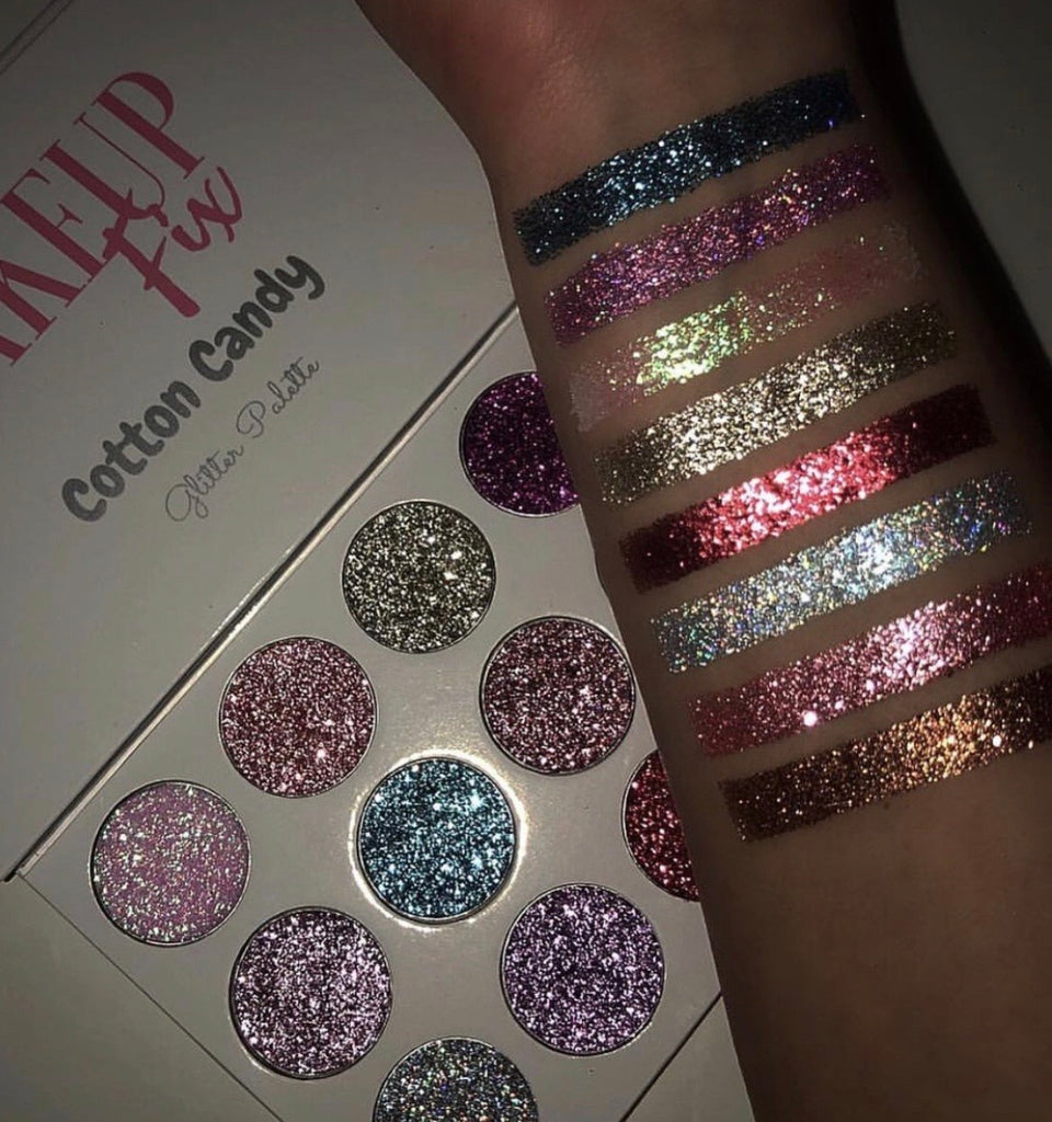 Cotton Candy Glitter Palette