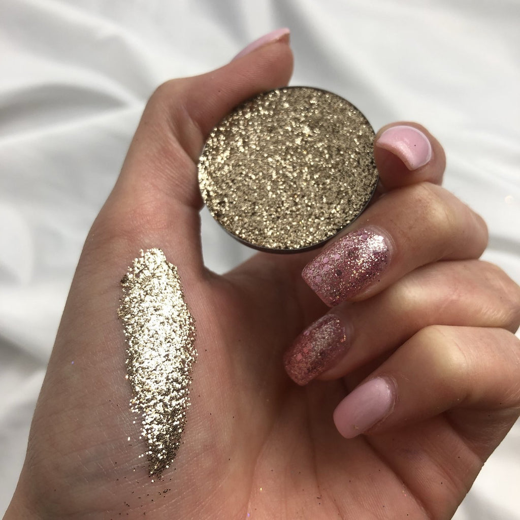 Champagne Pressed Glitter 36MM PAN