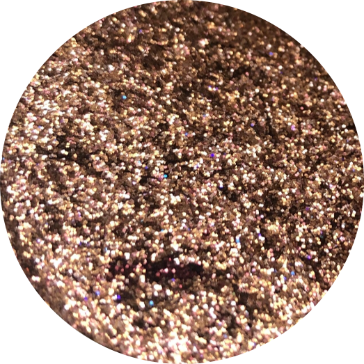 Rose Gold Pressed Glitter 36MM PAN