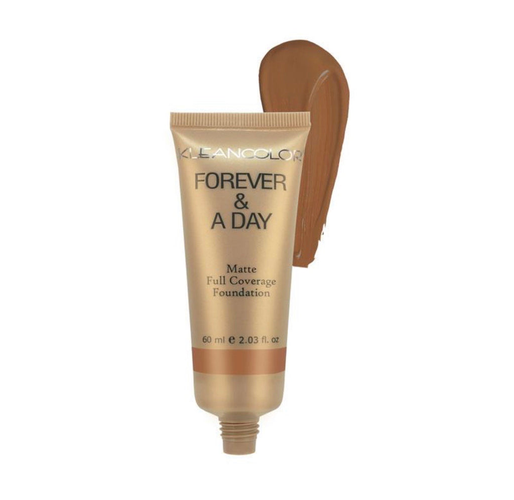 FOREVER & A DAY MATTE FULL COVERAGE FOUNDATION - DARK CHOCOLATE