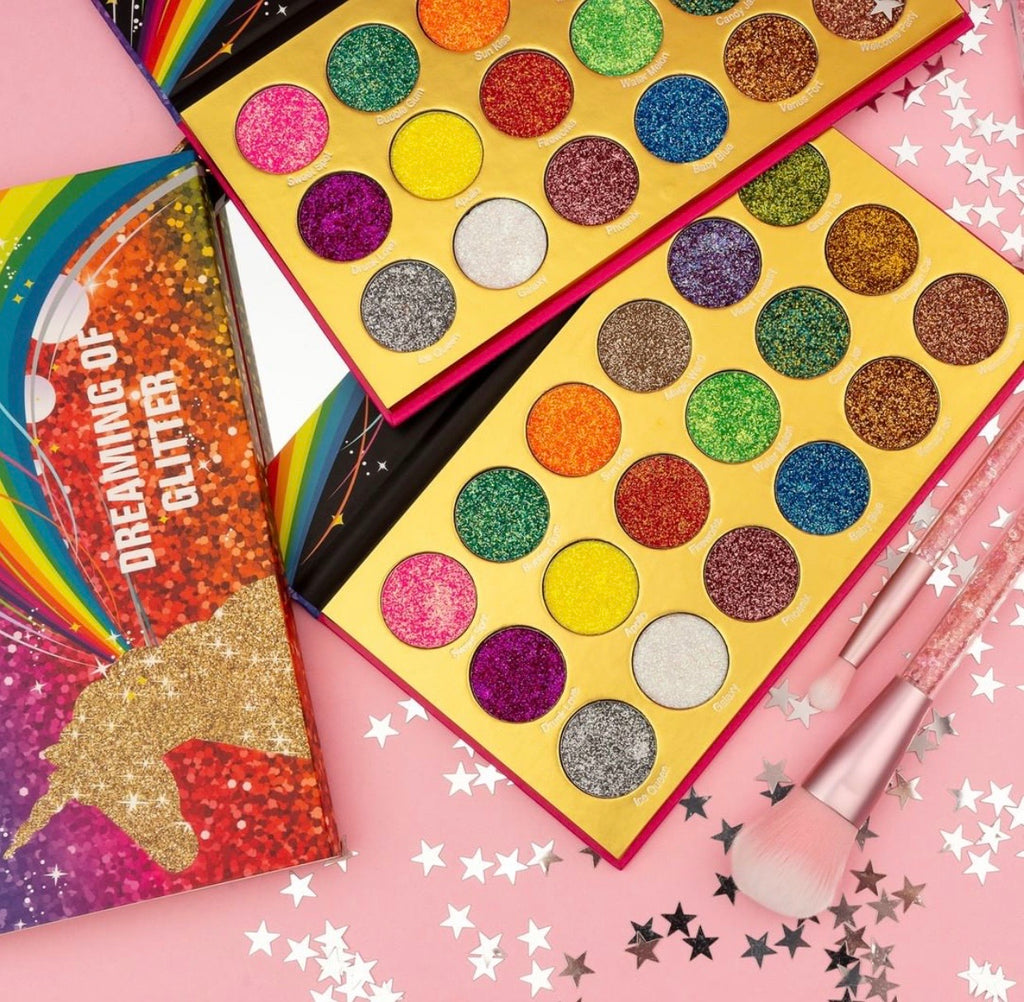 Dreaming of Glitter palette