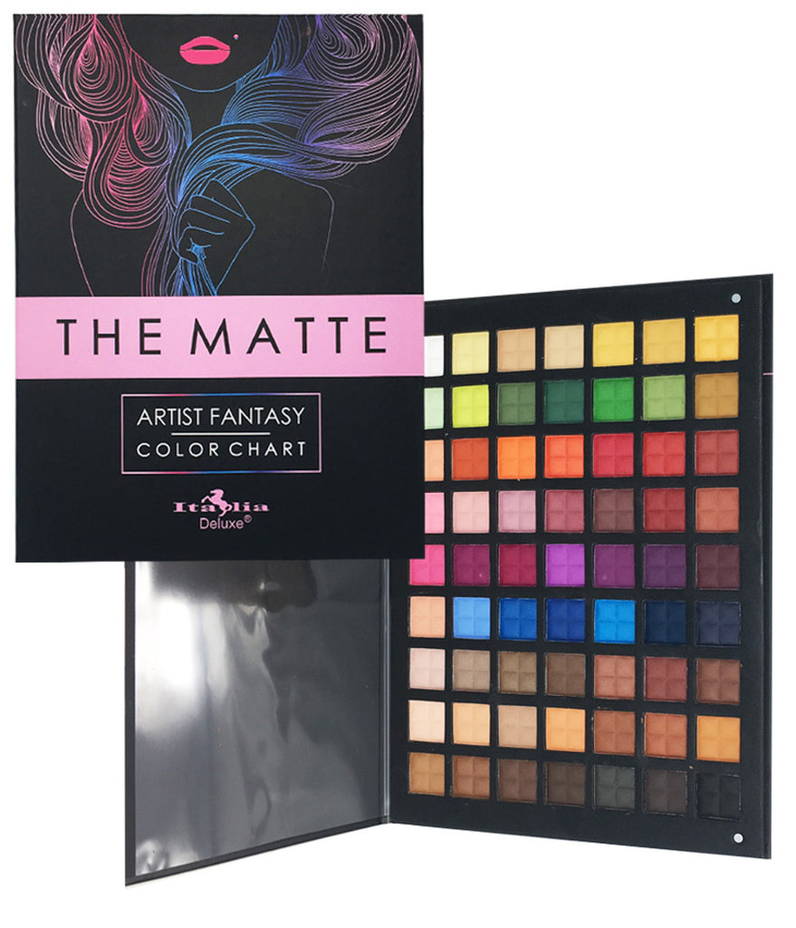 The Matte Artist Fantasy 63 Color Chart