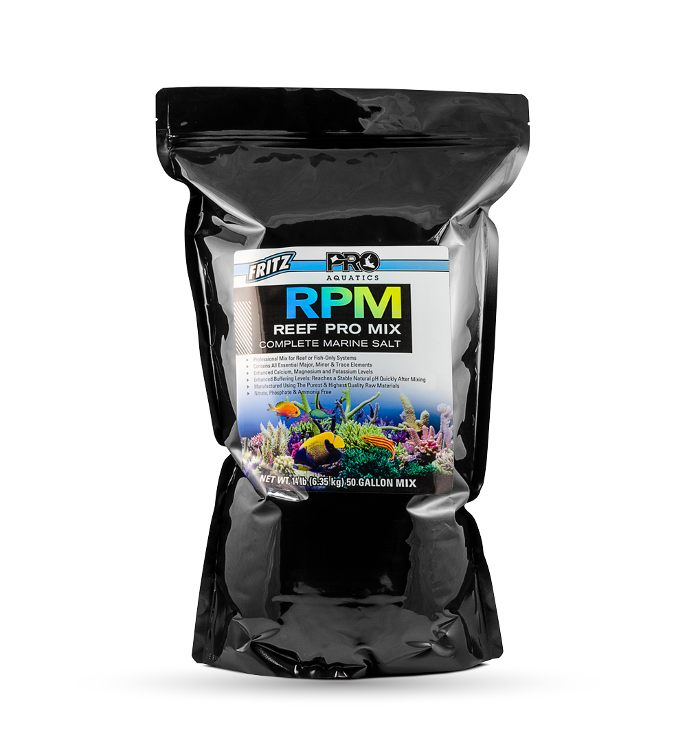 Fritz Aquatics Reef Pro Mix RPM Salt Mix
