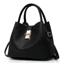Load image into Gallery viewer, Women Totes Bag Pu Patent Leather
