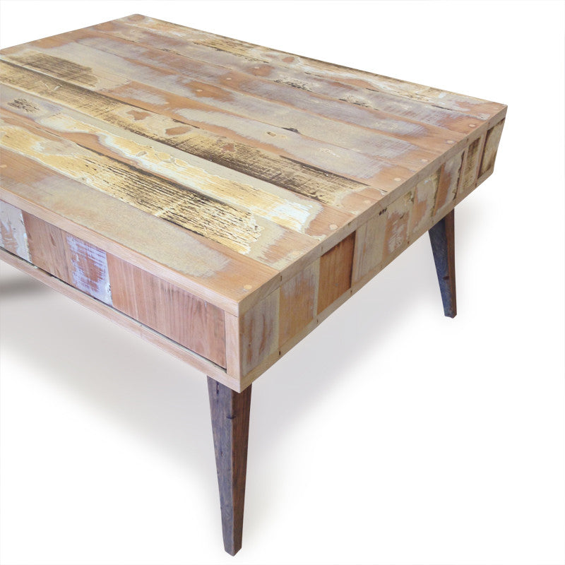 Coffee table buy timber coffee table w drawers online for Coffee tables 80cm wide