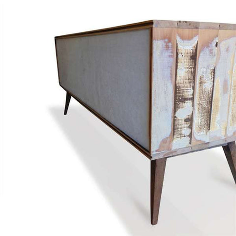 """Once Upon A Queenslander"" Eco Recycled Retro Cabinet / Sideboard / Buffet with Push To Open Drawers"
