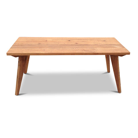 Modern Mid Century Retro Recycled Dining Table in Natural X-Large (2.4m)
