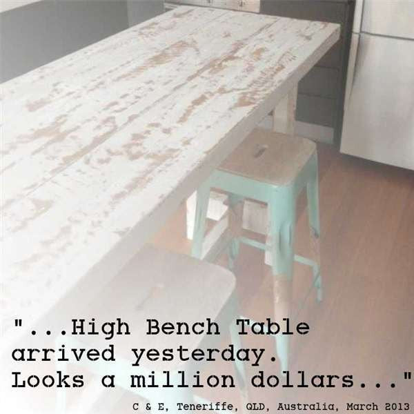 High Kitchen Bench: High Kitchen Island Bench, Buy Custom Made Table Online