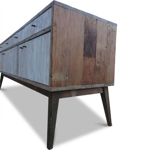 """Once Upon A Queenslander"" Eco Recycled White Sideboard / Entertainment Unit"