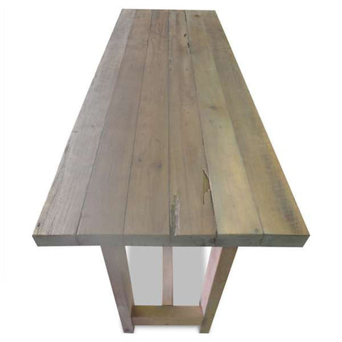 """Once Upon A Queenslander"" Eco Recycled High Bench Table in Natural"