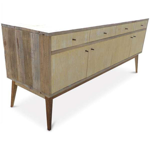 """Once Upon A Queenslander"" Eco Recycled Lemon Meringue Sideboard / Entertainment Unit"