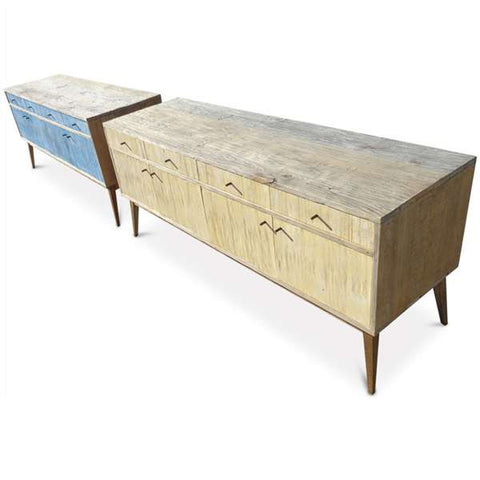 """Once Upon A Queenslander"" Eco Recycled Denim Sideboard / Entertainment Unit"