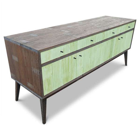 """Once Upon A Queenslander"" Eco Recycled Mint Sideboard / Entertainment Unit"