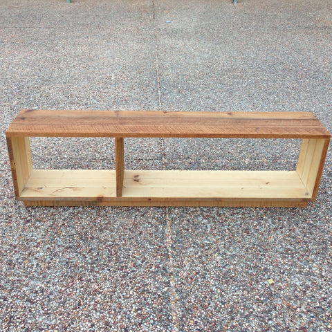 """Once Upon A Queenslander"" Eco Recycled Modular Bookcase / Bench / TV Stand"