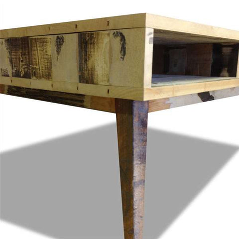 Eco Recycled Retro Open Coffee Table