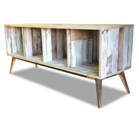 Eco Recycled Open Cabinet / Sideboard / Buffet