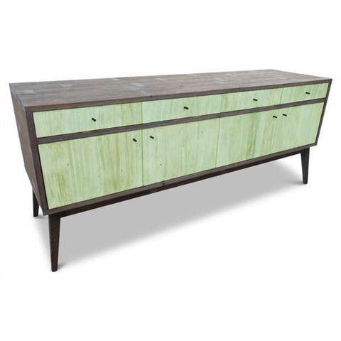 """Once Upon A Queenslander"" Eco Recycled Sideboard / Entertainment Unit in Mint Green"