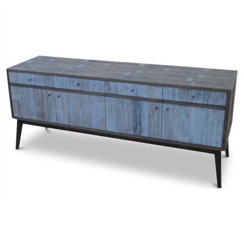 """Once Upon A Queenslander"" Eco Recycled Sideboard / Entertainment Unit in White"