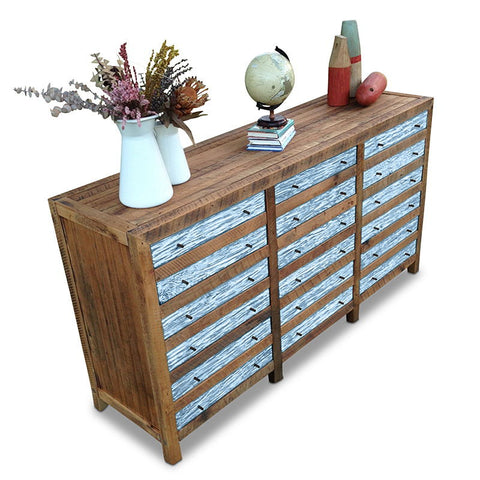 Buffet table and dresser buy pastel blue wooden cabinet for Sideboard shabby